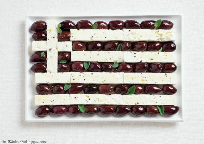 5. Greece - Kalamata olives, Feta cheese