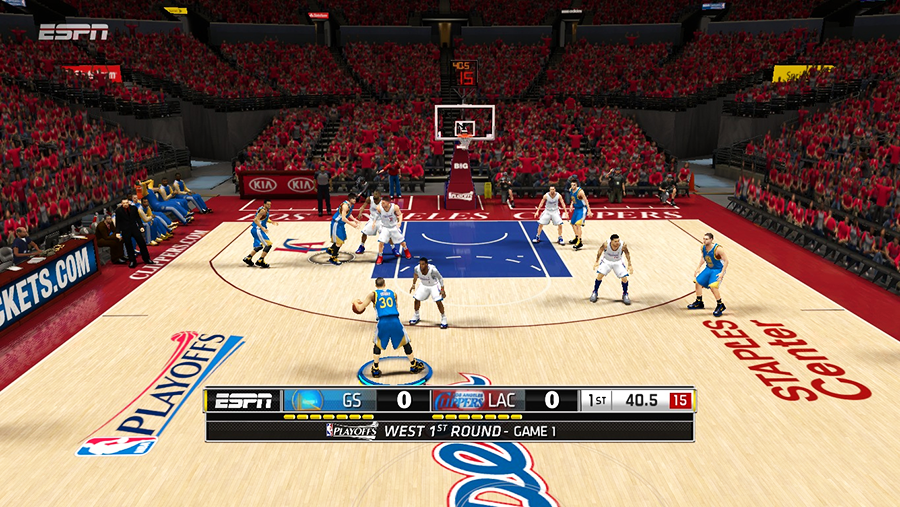 NBA 2K14 ESPN Scoreboard Mods - Playoffs / ECF / WCF - NBA2K ORG