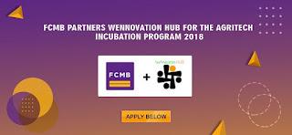 FCMB Wennovation Hub Incubation Program 2018