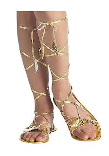 Ideas para calzado para disfraz egipcia