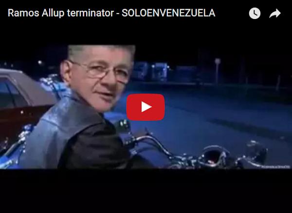 Ramos Allup, el Terminator salvador de Venezuela