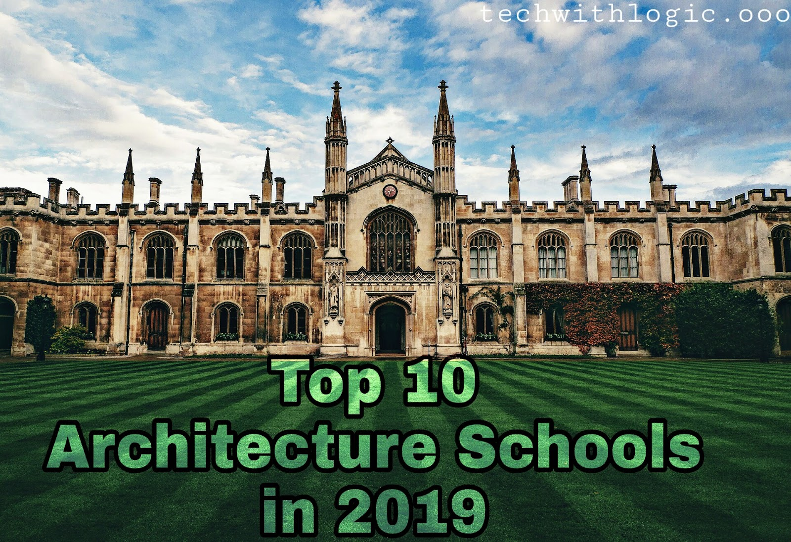 Top 10 Architecture Schools in USA in 2019