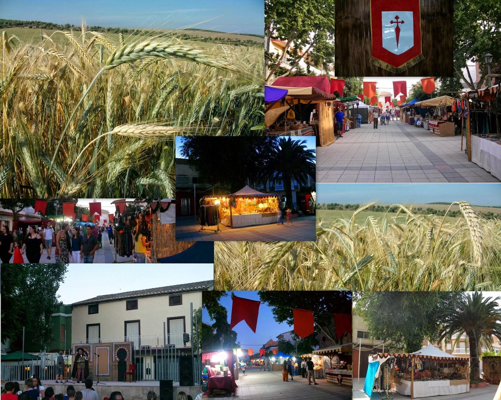 Mercado Medieval de Villargordo . Jaén