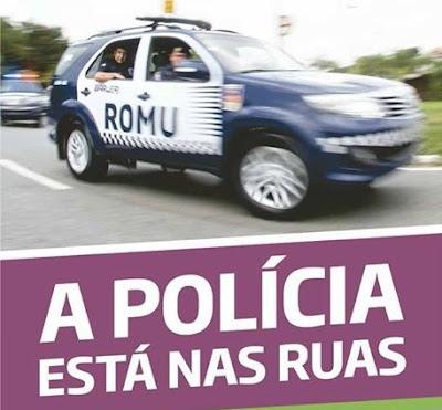 ROMU (Rondas Ostensivas Municipais) é a nova unidade de policiamento da Guarda Civil de Barueri