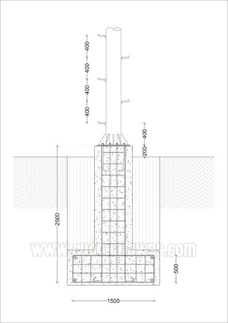Tower Monopole 30 meter