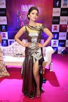 Shreya Saran in Skin Tight Golden Gown ~  Exclusive 001.JPG