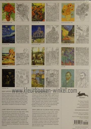 kleurboek GK 05 vincent van gogh