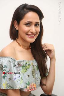 Actress Pragya Jaiswal Stills in Floral Dress at turodu Interview  0126.JPG