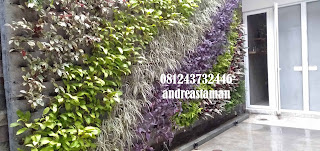 Jasa Pembuatan Vertical Garden | Taman Vertikal