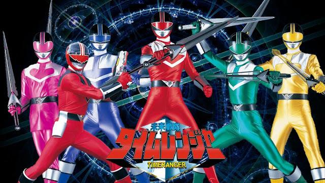 Mirai Sentai Timeranger Sub Indo