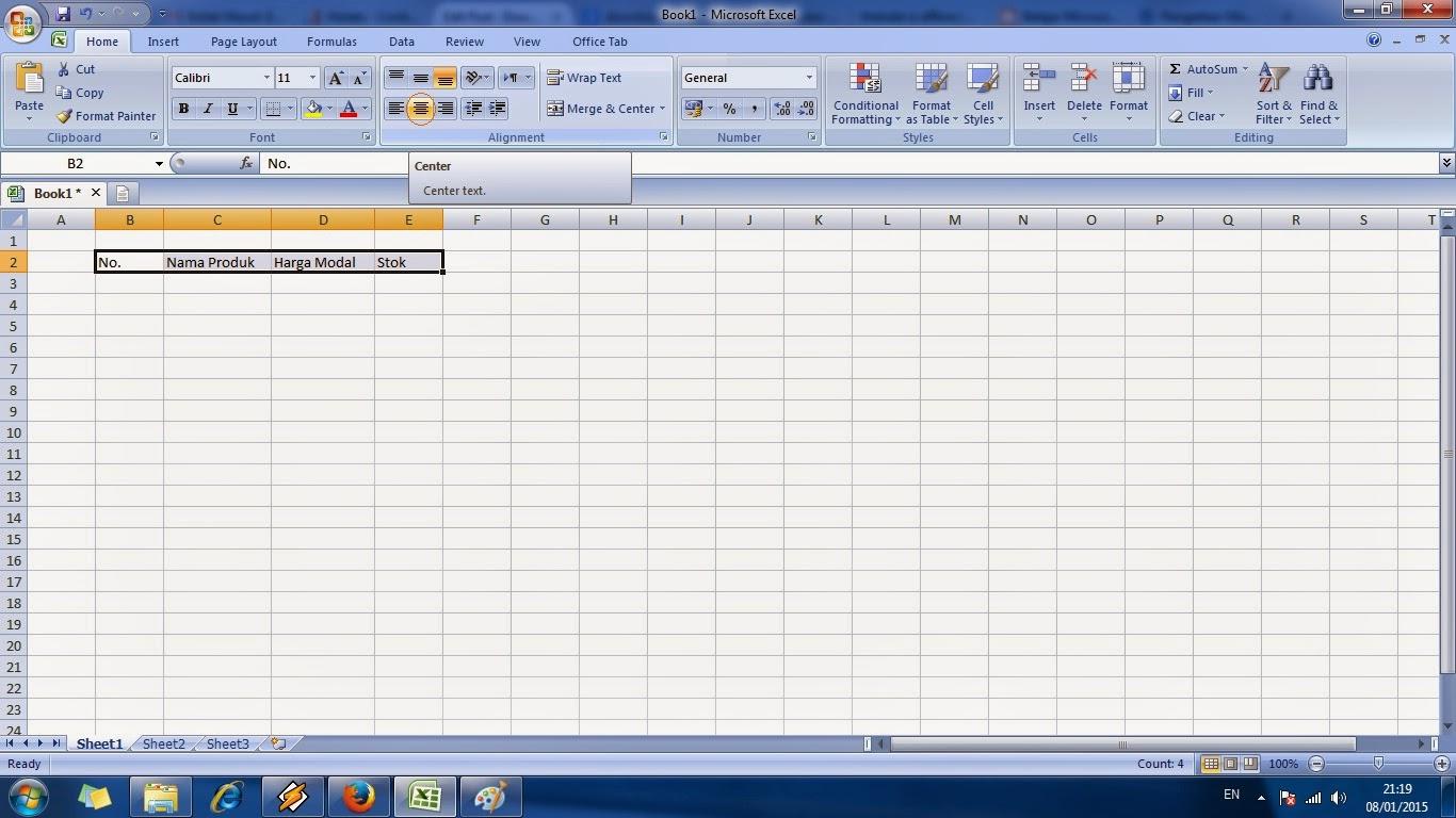 Tutorial Cara Cepat Belajar Microsoft Excel Level 2
