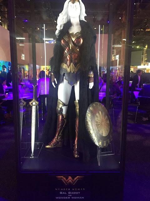 Vestimenta de Gal Gadot para Wonder Woman