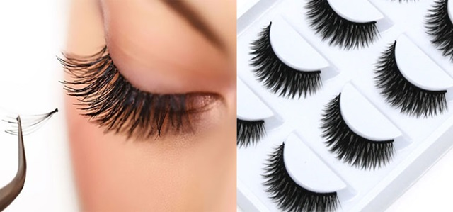 hukum pakai Maskara, Eyeliner dan Bulu Mata Palsu