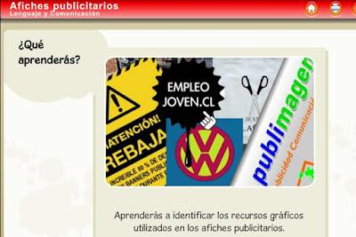 http://www.ceiploreto.es/sugerencias/Educarchile/lengua/5to_Avisos_publicitarios/index.html