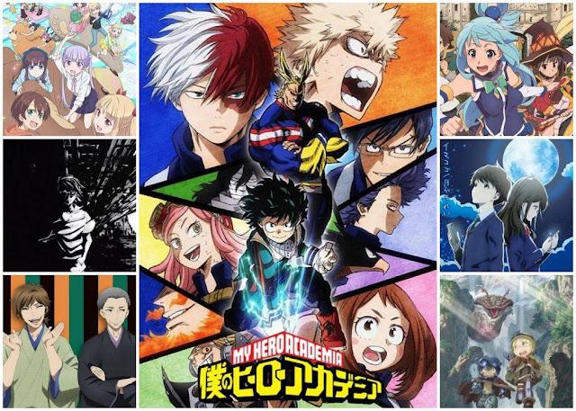 TOP 7: Melhores Animes de 2017 que Assisti