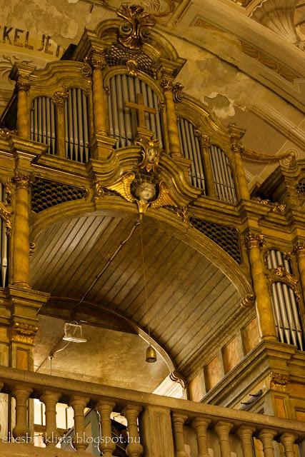 Rieger-féle orgona 1910-ből a csongrádi Nagyboldogasszony templomban