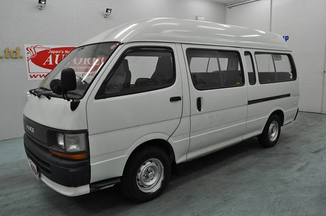 Toyota hiace for sale in durban from japan