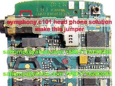 samphony c101headphone sotion
