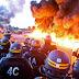 A nueve días de la Eurocopa la clase obrera francesa paraliza el país