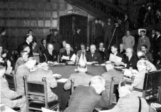 Perjanjian Yang Mengakhiri Perang Dunia II / Kedua