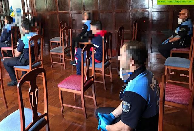 La Policía Local de Los Llanos de Aridane sanciona a 74 personas por saltarse el confinamiento desde el comienzo del estado de alarma