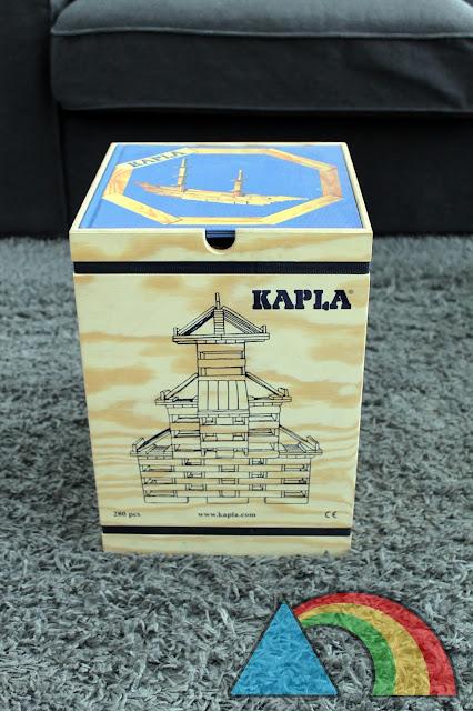 Caja de 280 piezas de construcción Kapla