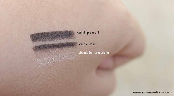 Oriflame Kohl Pencil dan Very Me Double Trouble