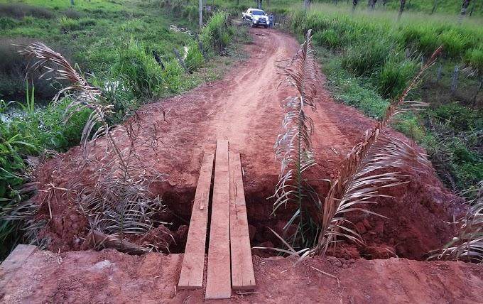 Moradores da Zona Rural de São Roberto reclamam....