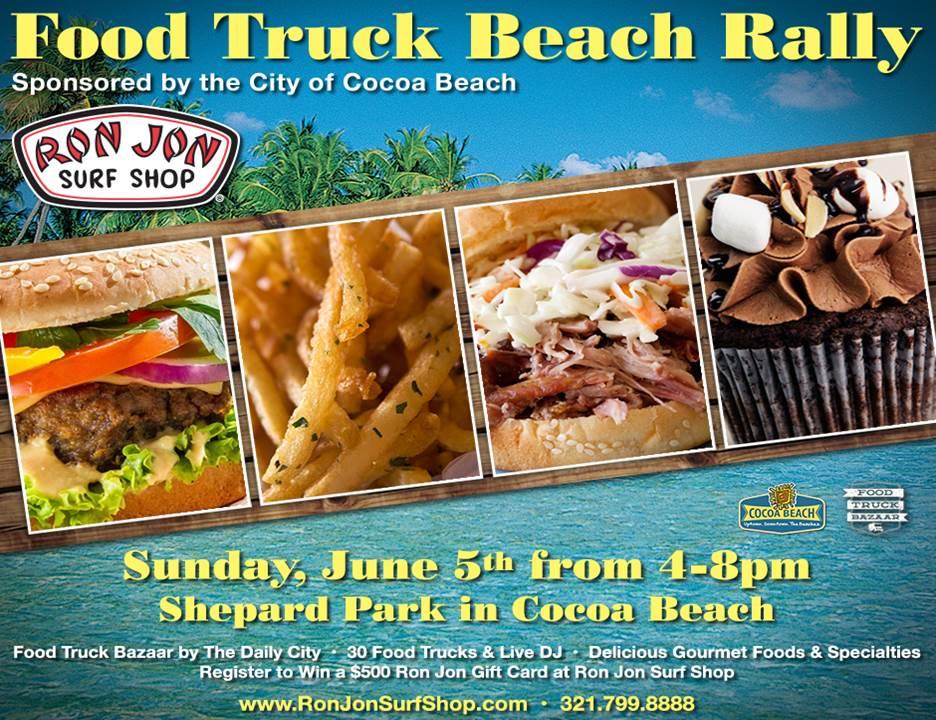 Cocoa Beach Food Truck Event