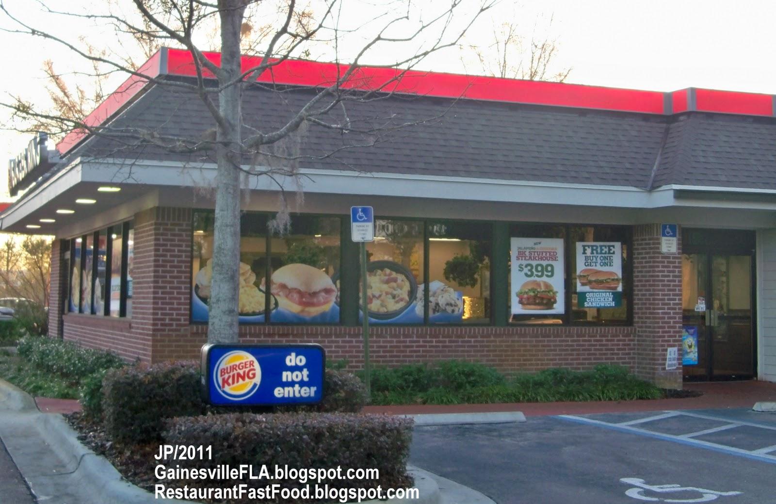 Fast Food Restaurants Gainesville Fl