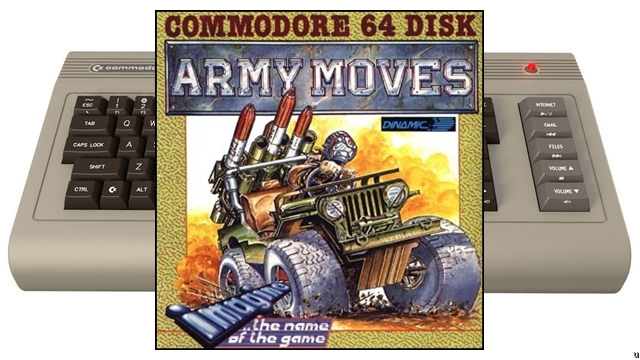 ARMY MOVES (COMMODORE 64)