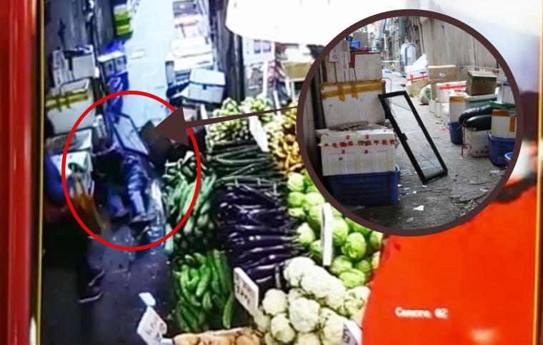 2 Orang Terluka Setelah Tertimpa Jendela Jatuh Dari Lantai 7 di Sham Shui Po