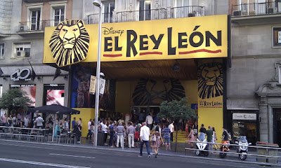Musicales como El Rey Leon han triunfado en Madrid