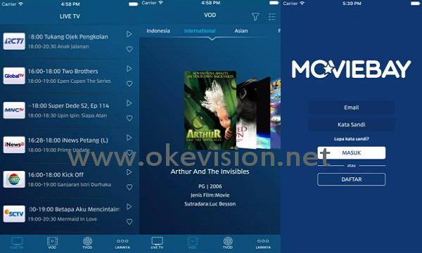 Cara nonton HBO gratis di ponsel dengan Moviebay.