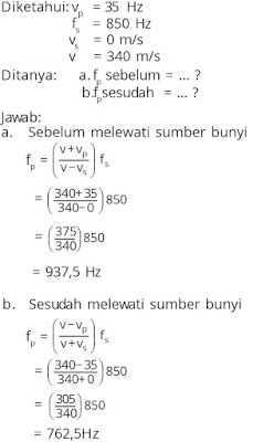 Pembahasan soal fisika tentang gelombang nomor 8