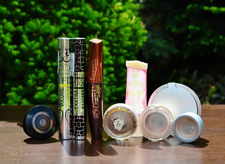 Denko - zużycia kosmetyczne - styczeń, luty,marzec - kosmetyki do makijażu