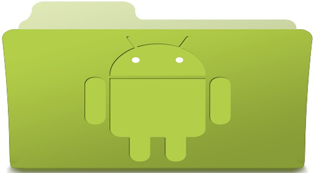 Folder Aplikasi di Android