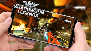 Review Game Android Terbaru 2018  Shadowgun Legend