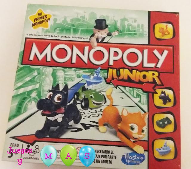 monopoly junior, monopoly, mi primer monopoly, juegos, juegos de mesa, + 5 años.