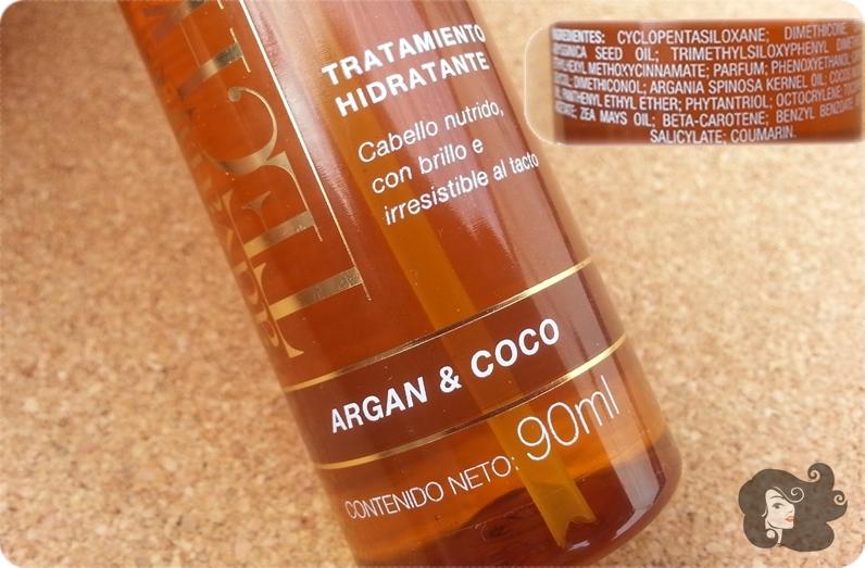 Aceite de argan para el pelo avon