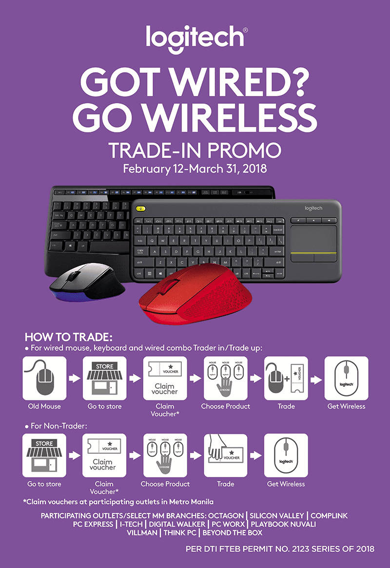 Logitech announces trade-in and trade-up promo in PH!