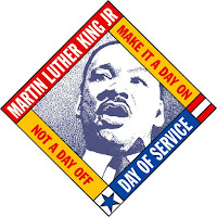 Martin Luther King Jr Day of Service Logo