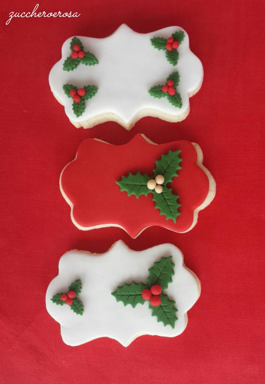 Biscotti Di Natale Uccia.Frolla Per Biscotti Decorati Zuccheroerosa