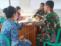 Dinkes Kab. Malinau, Cek Kesehatan Anggota Kodim 0910 dan Anggota Polres Malinau