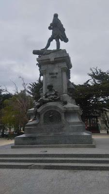 Muñoz Gamero Square, Punta Arenas, Chile.