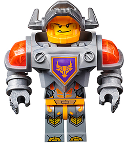 Cross Planes Lego Axl A Nexo Knight For The Cypher
