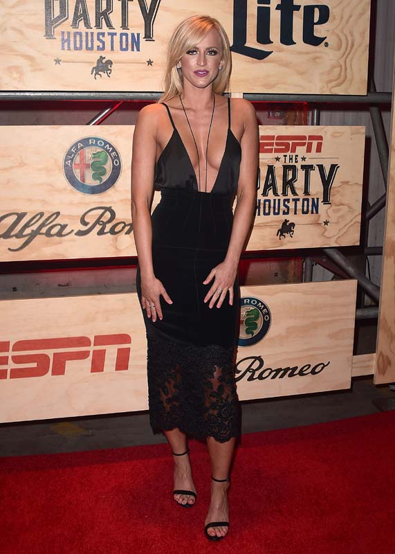 Summer Rae Hot Photos From Espn The Party In Houston -7638