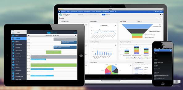 Phần mềm quản lý quan hệ khách hàng vtiger CRM -  download phần mềm vtiger crm