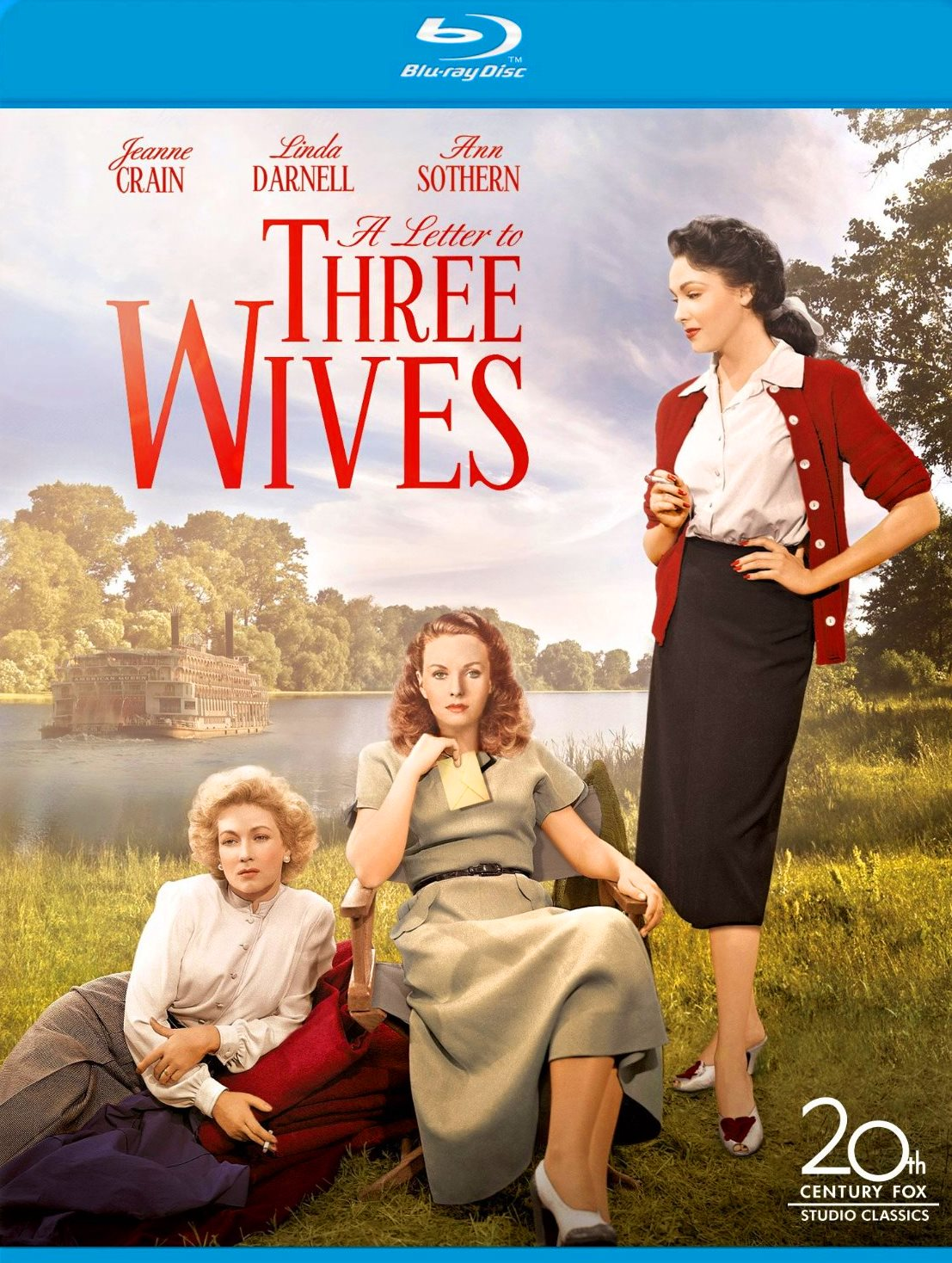 NIXPIX - DVD & BLU-RAY Reviews: A LETTER TO THREE WIVES: Blu-ray (2oth ...