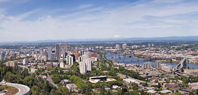 Panorâmica de Portland